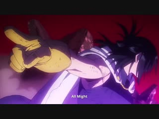 Boku no hero academia two heroes bluray/dvd - рекламный ролик
