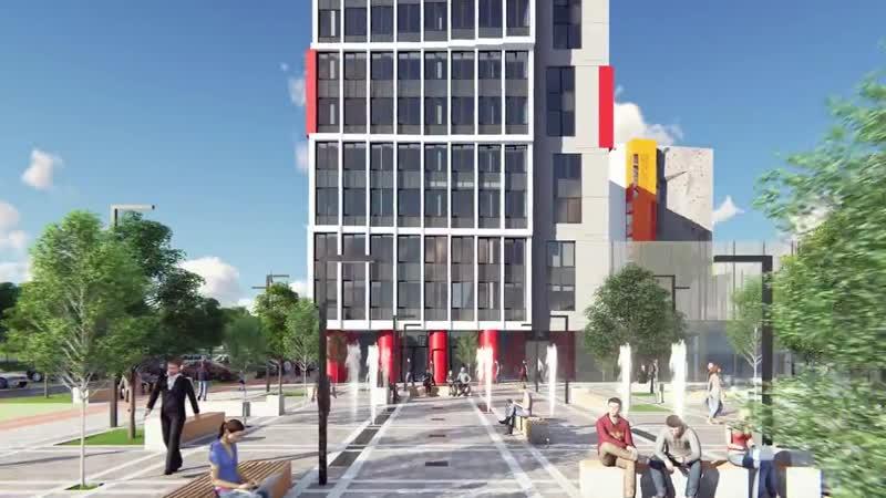 Проект многофункционального комплекса апартаментов «Академия»