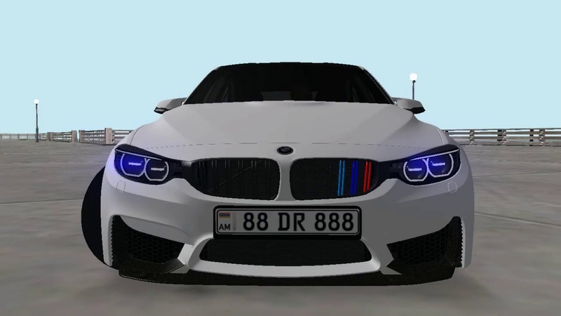 BMW M3 2018 / MTA Armenia (Мод)