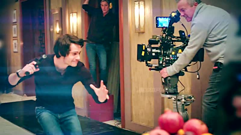 Dylan OBrien as Mitch Rapp [BTS Moments) ❤❤
