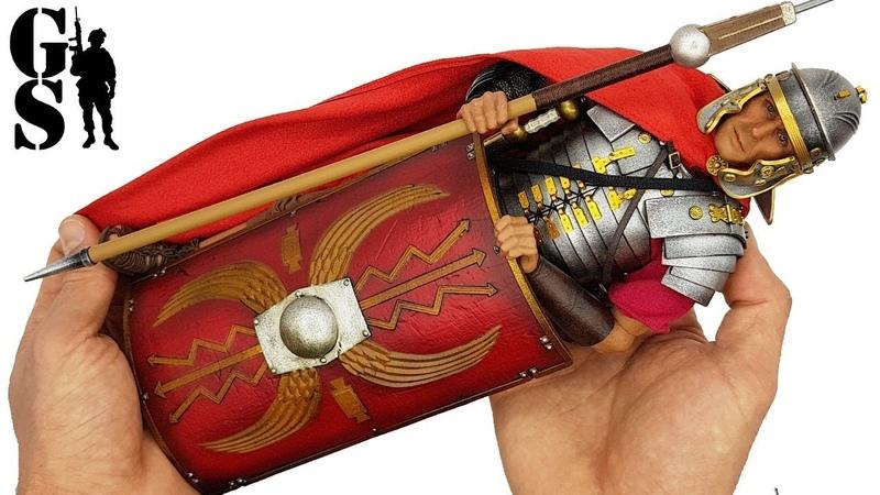Обзор Римский легионер - фигурка в масштабе 16 от HH Model