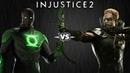 Injustice 2 - Джон Стюарт против Зелёной Стрелы - Intros Clashes rus