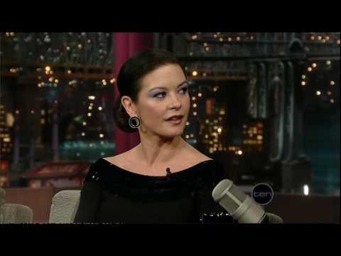 Catherine Zeta-Zone (Letterman)