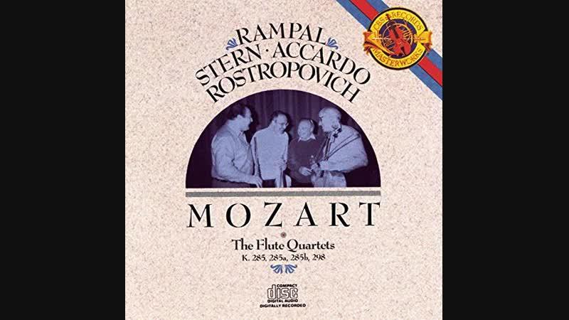 Mozart Flute Quartets (1986 Rampal, Stern, Accardo,Rostropovich)
