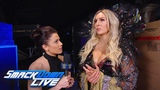 Charlotte Flair reacts to being chosen to face Ronda Rousey SmackDown LIVE, Nov. 13, 2018