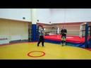 Радабор Спарринг, тренировка в г. Железнодорожном.