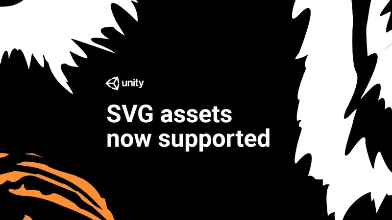 Import Vector Graphics into Unity 2018 2 SVG Support
