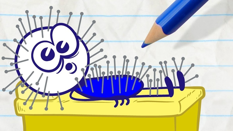 Pencilmate Gets Bad Service in DON'T SHOOT THE MASSAGER Pencilmation Cartoons for Kids