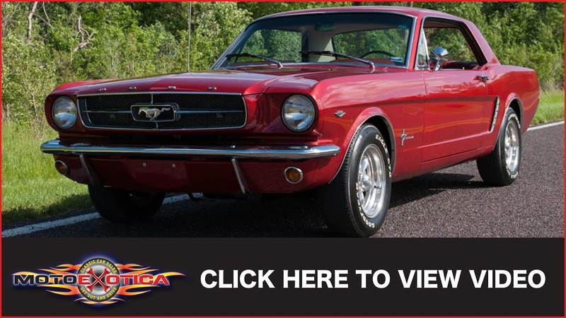1965 Ford Mustang Coupe SOLD