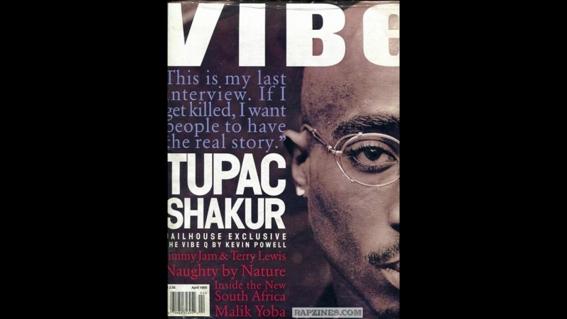 Tupac Rikers Island Jail Interview January 1995 with Kevin Powell
