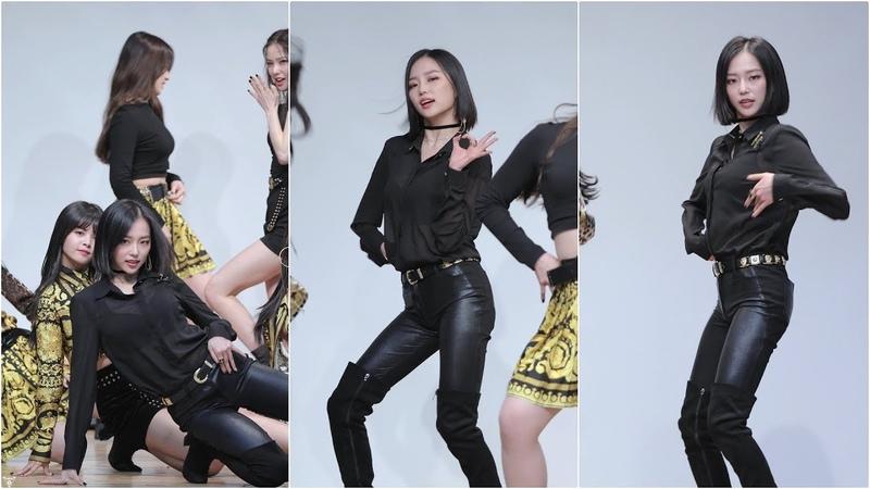 [4K] 180225 CLC 예은 직캠 (Crystal Clear/장예은) - BLACK DRESS(블랙드레스) @미니앨범 팬사인회/Fancam By 쵸리(Chori)