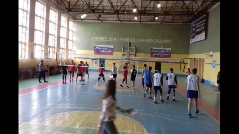 7 волейбольный турнир Астраханский кубок 2018 День второй