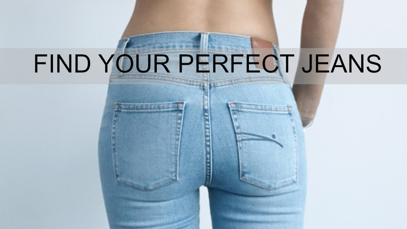 HOW-TO FIND THE PERFECT JEANS FOR YOUR BODY TYPE Closet tips from a stylist