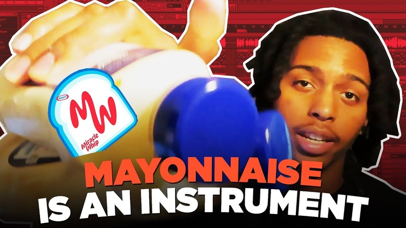 IF MAYONNAISE WAS AN INSTRUMENT. HOW TO MAKE FIRE BEATS WITH ANY OBJECT EVER 🔥