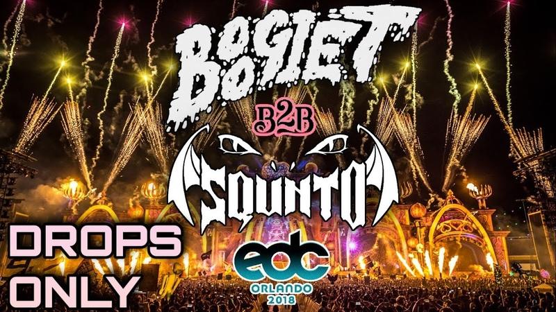 Boogie T SQUNTO @ EDC Orlando 2018 | Drops Only