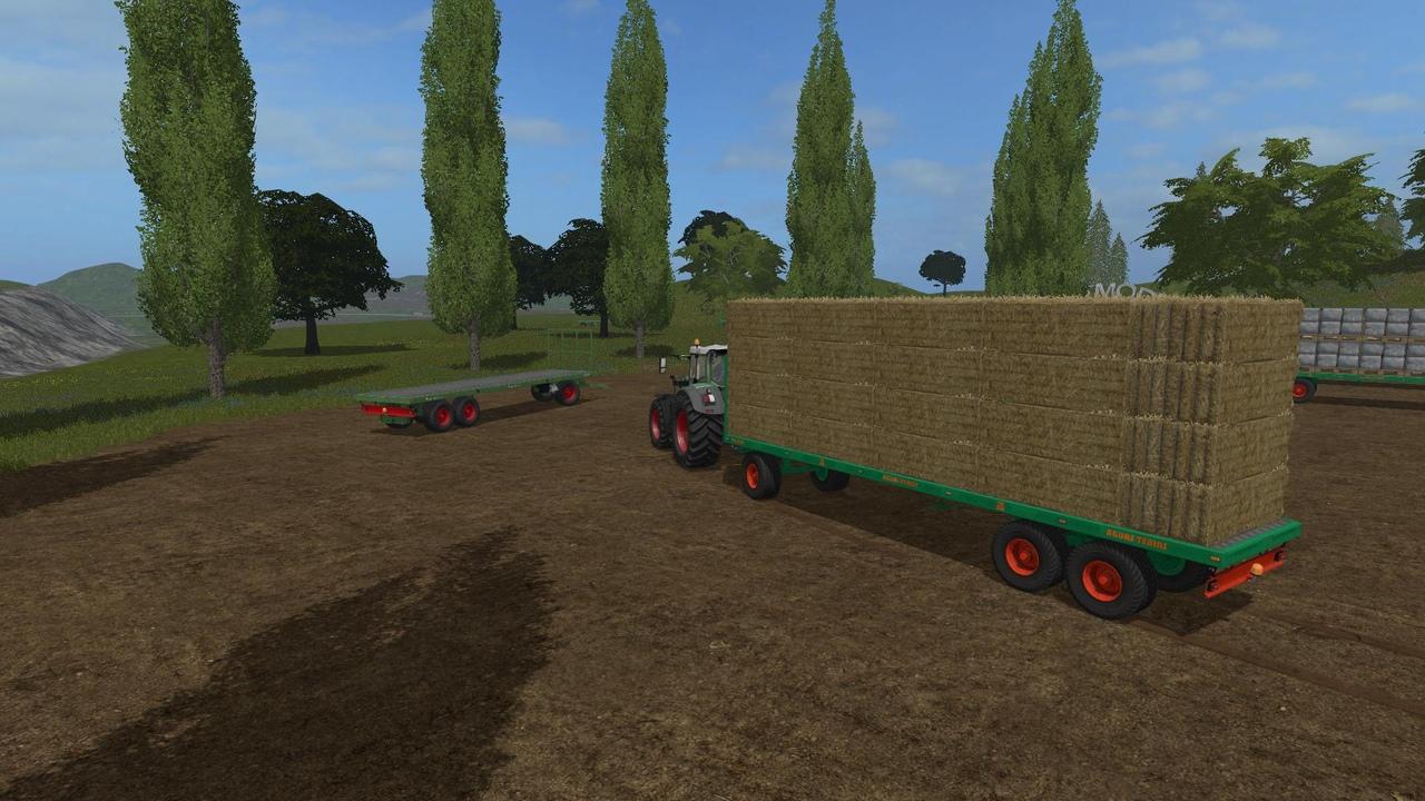 Тюки сена, соломы или травы вFarming Simulator 2019