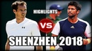 Andy Murray vs Fernando Verdasco SHENZHEN 2018 Highlights
