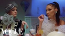Gigi Bella Anwar Hadid Have Dinner With Yolanda Vogue