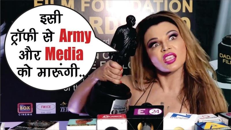 Troll Hui Rakhi Sawant Ne Media Aur Army Ko Dedi Khuli Chunauti Viral Video