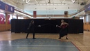 Экзамен по фехтованию. 3-й курс. ИСИ.