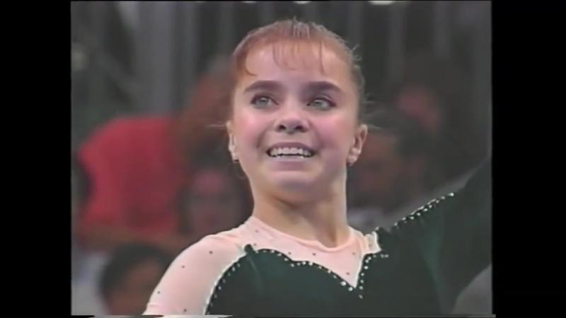 Лилия Подкопаева - Lilia Podkopayeva - Floor exercise - Atlanta 96 {1996 Atlanta Olympic}