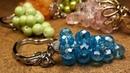 Sencillo y Practico Llavero de Cristales...Clase 88