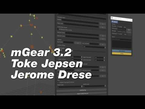 The Rigging Buddies Podcast 3 mGear 3.2 with Toke Jepsen and Jerome Drese