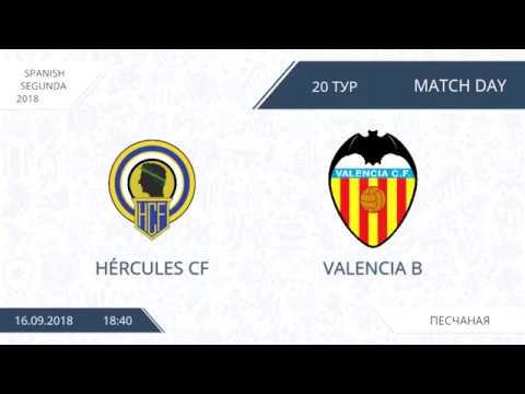 AFL18. Spain. Segunda. Day 20. Hercules CF - Valencia B