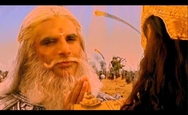 05_Махабхарата_Бхишма получает Наставление от Кришны