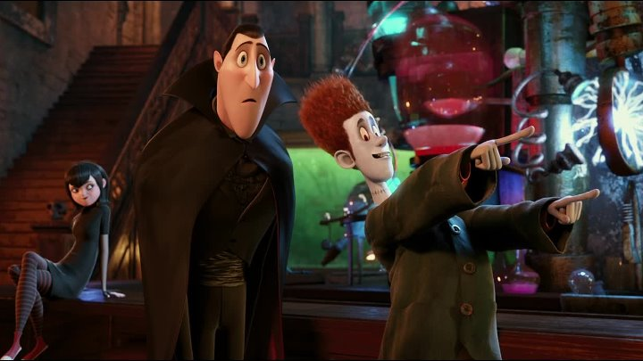 Монстры на каникулах Hotel Transylvania мультфильм 2012