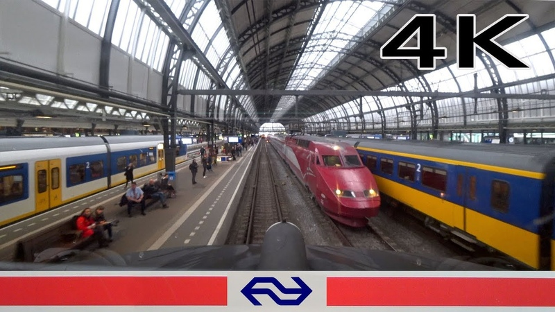 4K CABVIEW HOLLAND Almere - Amsterdam ICM 17apr 2019
