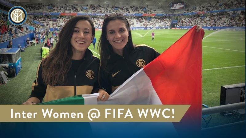 INTER WOMEN @FIFA WOMENS WORLD CUP! 🇮🇹🖤💙 [CC ENG]