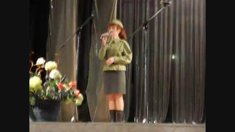 Алина Савельева на конкурсе Мы этой памяти верны Живое исполнение mp4