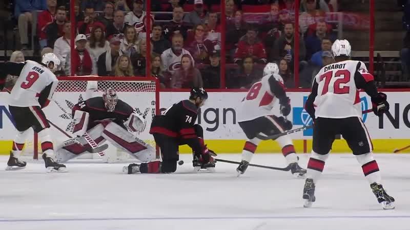 Ottawa Senators vs Carolina Hurricanes   Jan.18, 2019   Game Highlights   NHL 2018/19   Обзор матча