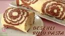 Мраморный рулет с заварным кремом, бананом / KIRILMA YAPMAYAN👌🏻 MÜTHİŞ LEZZETLİ 😋RULO PASTA HEMDE KENDİNDEN DESENLİ🌸