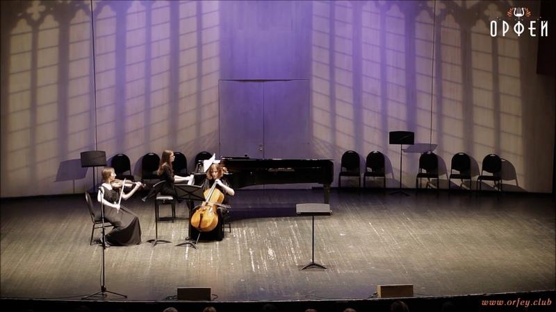 Трио KV 564 соль мажор 1-я часть - В.А.Моцарт