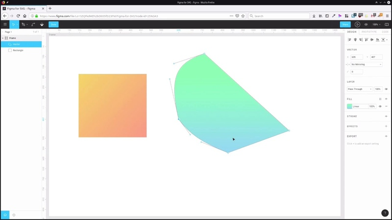 Using Figma for SVG Design Vector Editing