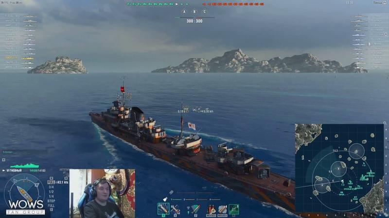 Обзор эсминца Гневный