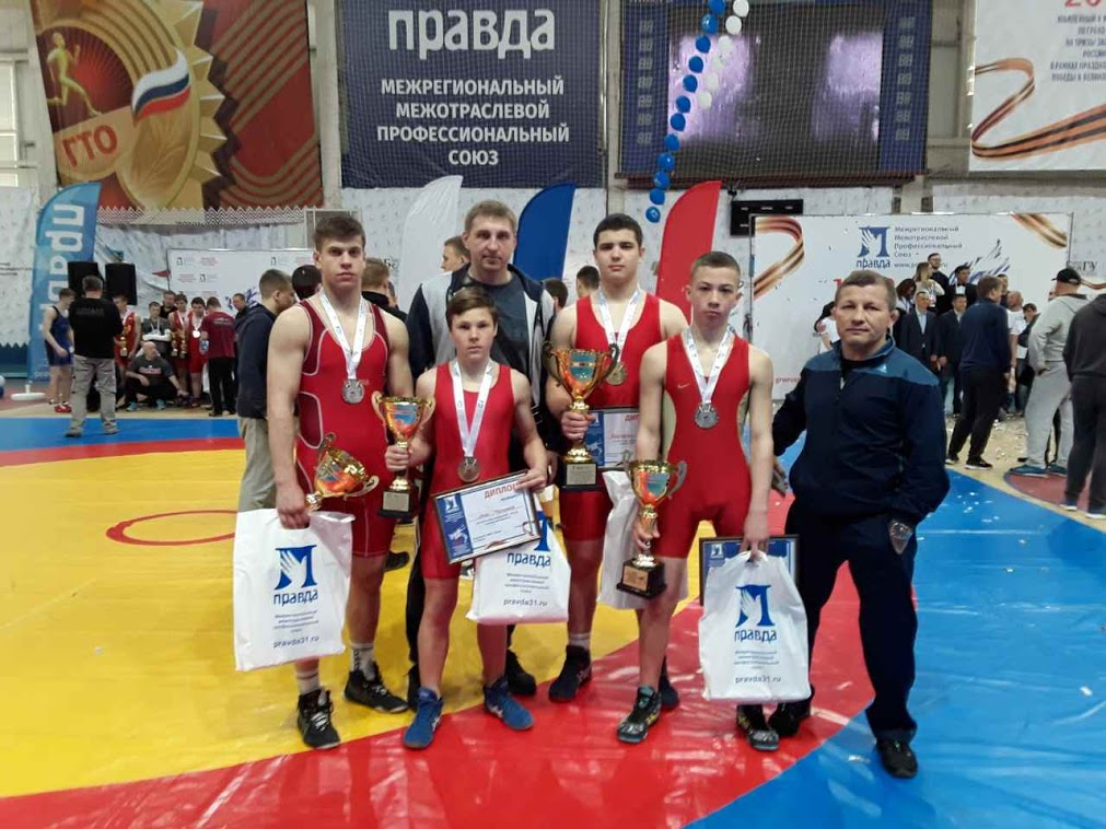 Сборная команда ДНР приняла  участие  в V Международном  турнире по греко-римской  борьбе в Белгородской области