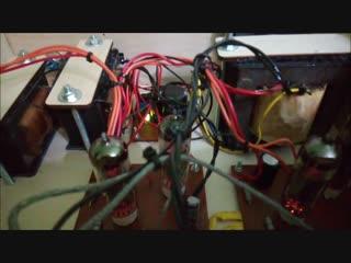 Обзор двухтактного стерео усилителя на лампах 6п14п