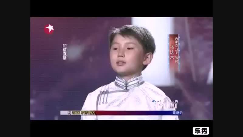 Монгольскиймальчикпоетпеснюдля своеймамы, которая на небесах...  .mp4