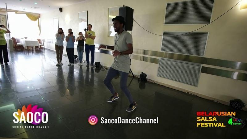 Tamba Salsaché Hissirou Salsa Classes at Belarusian Salsa Festival 2018, Friday 28.09.2018