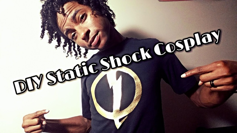 How to Make a Static Shock Cosplay Shirt
