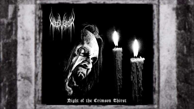 Nattsvargr Night of the Crimson Thirst 2018 Blackmoon Records album stream