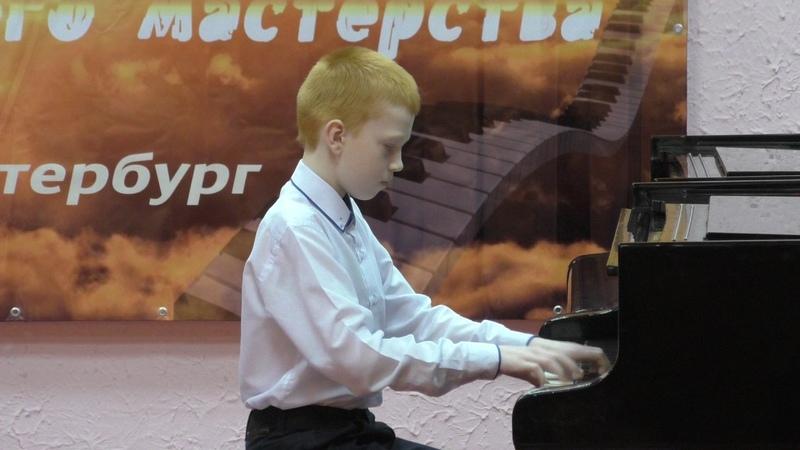 Афанасенко Назар на Международном конкурсе Вдохновение 2017