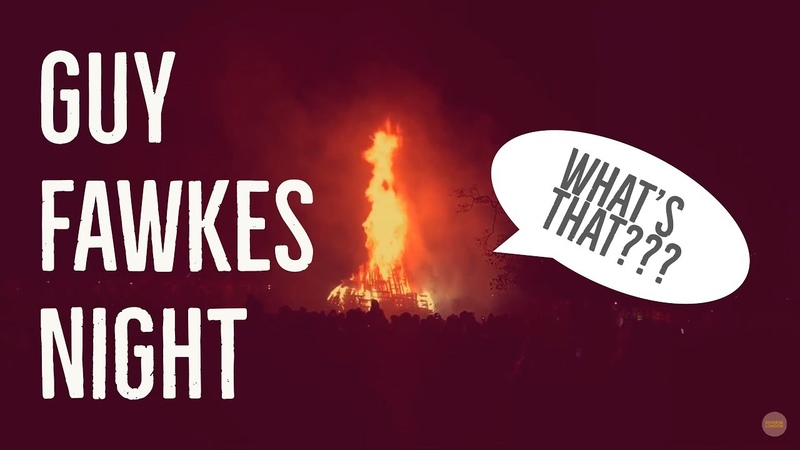 Whats an English festival Guy Fawkes Night!
