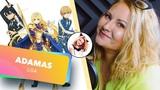 Sword Art Online Alicization ADAMAS (Nika Lenina Russian Version)