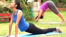 9 Yoga Asanas for Flat Stomach - Simple Power Yoga Poses for Quick Weight Loss