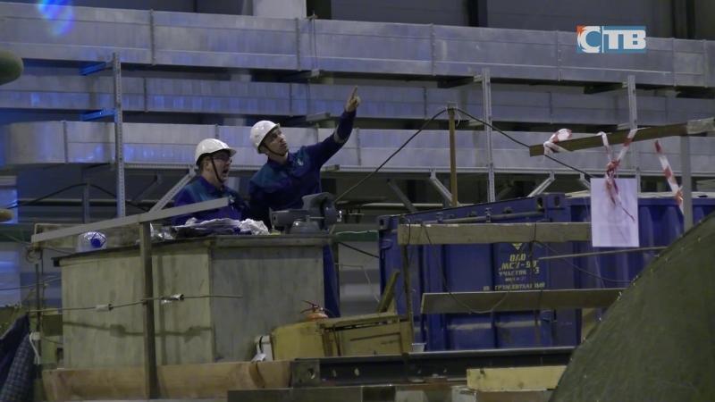 18.09.2018 Монтажники МСУ-90 выполнили сложную операцию на строительной площадке ЛАЭС-2