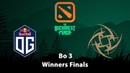 OG vs NIP   Winner Finals Bo 3 Game 1   The Bucharest Minor EU Qualifier